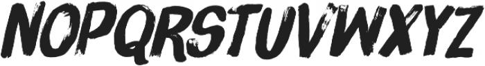 Brush Up Too otf (400) Font LOWERCASE