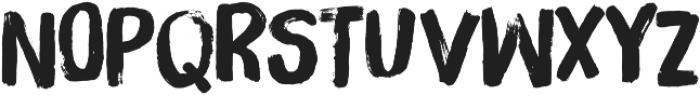 Brush Up otf (400) Font UPPERCASE
