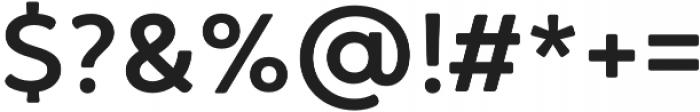 Brushability Sans SemiBold otf (600) Font OTHER CHARS