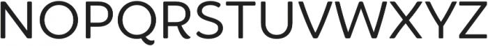 Brushability Sans otf (400) Font LOWERCASE