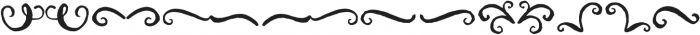 Brushfire Extras otf (400) Font LOWERCASE