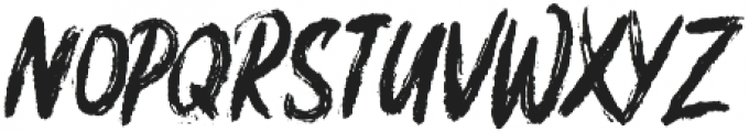 Brushfix otf (400) Font UPPERCASE