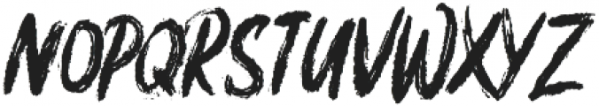 Brushfix ttf (400) Font LOWERCASE