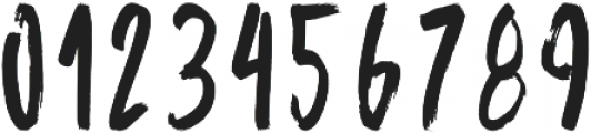 Bruship otf (400) Font OTHER CHARS