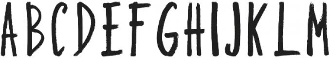 Bruship otf (400) Font UPPERCASE