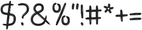 Brushtype Od Regular otf (400) Font OTHER CHARS