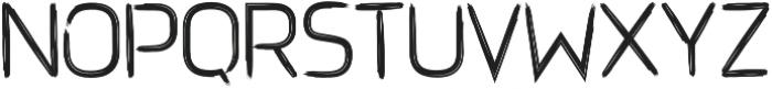 Brushtype Od Regular otf (400) Font UPPERCASE