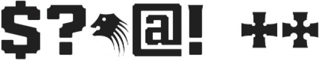 Brut otf (400) Font OTHER CHARS