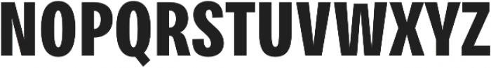 Bruta Pro Compressed otf (700) Font UPPERCASE