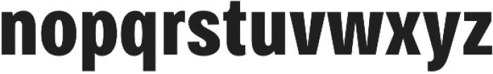 Bruta Pro Compressed otf (700) Font LOWERCASE