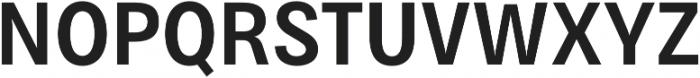 Bruta Pro Condensed Semi Bold otf (600) Font UPPERCASE