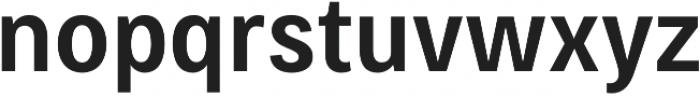 Bruta Pro Condensed Semi Bold otf (600) Font LOWERCASE
