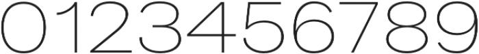 Bruta Pro Extended Extra Light otf (200) Font OTHER CHARS