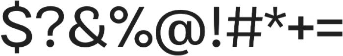 Bruta Pro Regular otf (400) Font OTHER CHARS