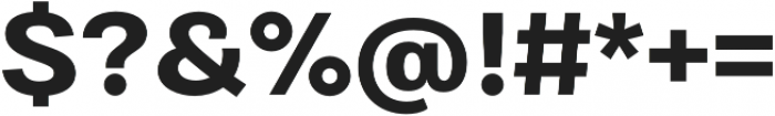 Bruta Pro Regular otf (700) Font OTHER CHARS