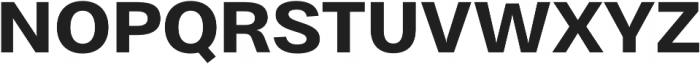 Bruta Pro Regular otf (700) Font UPPERCASE