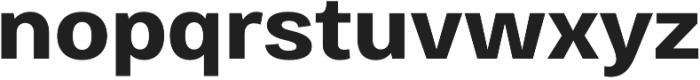 Bruta Pro Regular otf (700) Font LOWERCASE