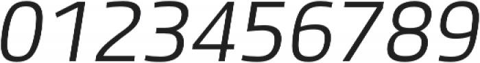 Bruum FY Light Italic otf (300) Font OTHER CHARS