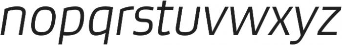 Bruum FY Light Italic otf (300) Font LOWERCASE