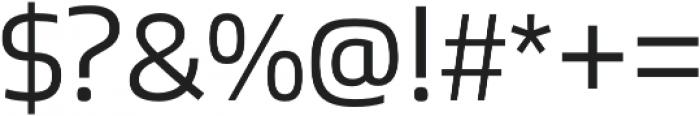 Bruum FY Light otf (300) Font OTHER CHARS