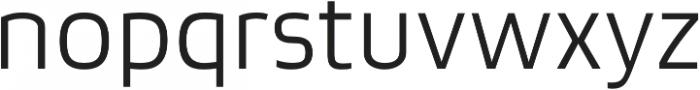 Bruum FY Light otf (300) Font LOWERCASE