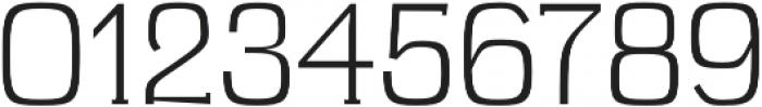 Brycen Light otf (300) Font OTHER CHARS
