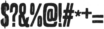 bronxshoes regular otf (400) Font OTHER CHARS