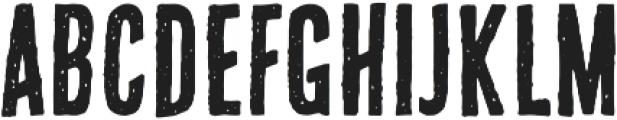 bronxshoes regular otf (400) Font UPPERCASE