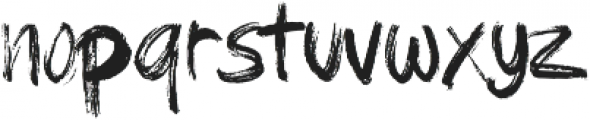 brushield ttf (400) Font LOWERCASE