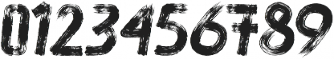 brushoot ttf (400) Font OTHER CHARS