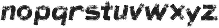 brushoot ttf (400) Font LOWERCASE