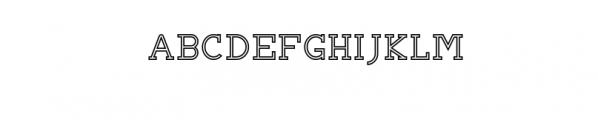BRIAN WORTH-outline.otf Font UPPERCASE