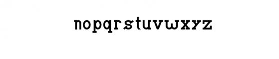 BRIAN WORTH.otf Font LOWERCASE