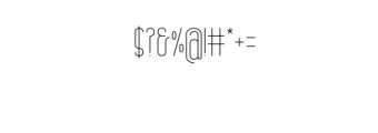 Brand.otf Font OTHER CHARS