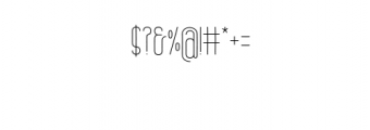 Brand.ttf Font OTHER CHARS