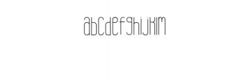 Brand.ttf Font LOWERCASE