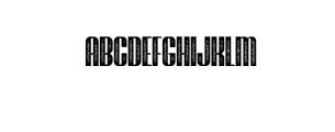 Brasham Font UPPERCASE