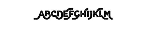Brawls Typeface Font UPPERCASE