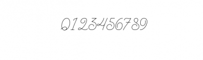 BraydenScriptThin.otf Font OTHER CHARS