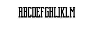 Brch Family Bundle 1 Font UPPERCASE
