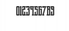 Brch Inline Font OTHER CHARS