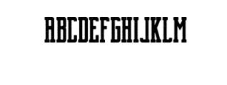 Brch Vintage Font UPPERCASE