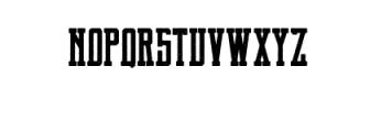 Brch Vintage Font LOWERCASE