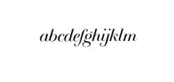 Breathe Neue Small.otf Font LOWERCASE