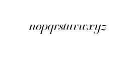 Breathe Neue.otf Font LOWERCASE