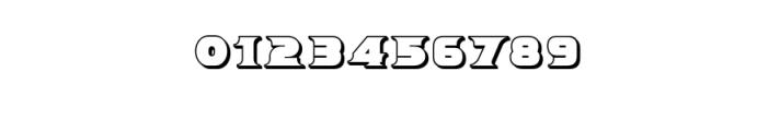 Breeze 3D.ttf Font OTHER CHARS