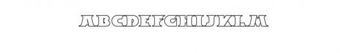 Breeze Outline.ttf Font LOWERCASE
