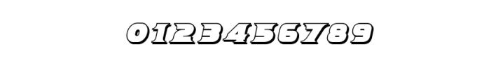 Breeze Shadow Italic.ttf Font OTHER CHARS