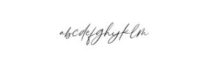 Breezeblocks.ttf Font LOWERCASE