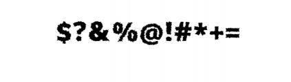 Brewok.otf Font OTHER CHARS